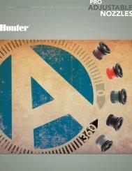 rotori spruzzatori valvole controller sensori ... - Hunter Industries