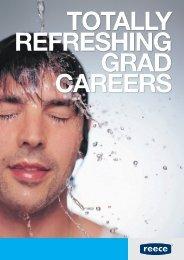 TOTALLY REFRESHING GRAD CAREERS - Reece