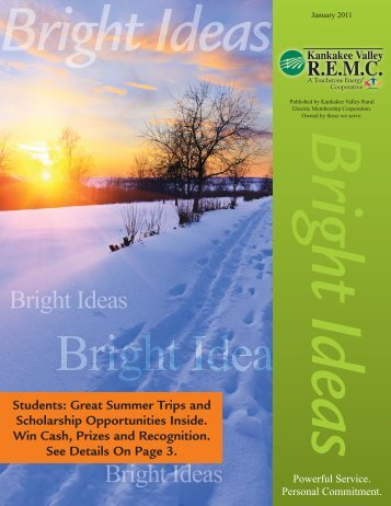 January 2011 Newsletter.indd - Kankakee Valley REMC