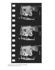 James Coleman. Untitled: Philippe VACHER. 1990. Images courtesy ...