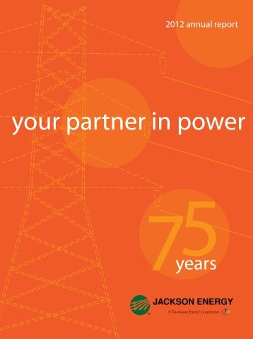 your partner in power - Jackson Energy Cooperative