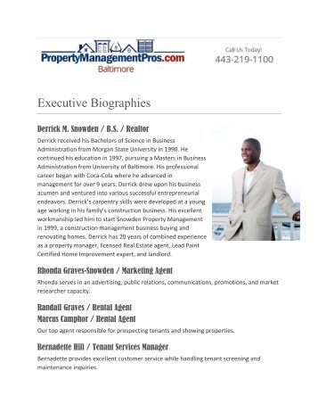 Baltimore Property Management Pros