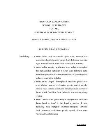 Hubungan Rekening Giro Antara Bank Indonesia Dengan Pihak
