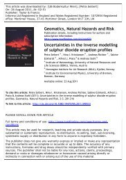 Uncertainties in the inverse modelling of sulphur dioxide ... - NILU
