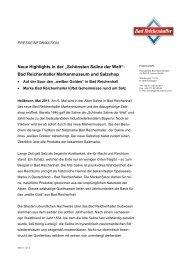 Bad Reichenhall. Die Alte Saline