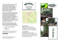 Flyer Kinder - Naturpark Neckertal