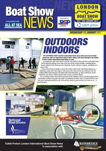 OUTDOORS INDOORS - London Boat Show