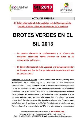 BROTES VERDES EN EL SIL 2013