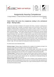 Assignments Assuring Competences - ENHSA