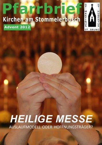 Weihnachten 2012 - St-martinus-stommeln.de