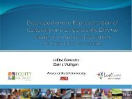 Disproportionate Representation of Culturally and ... - NCCRESt