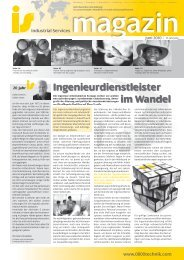 Ingenieurdienstleister im Wandel - is Industrial Services