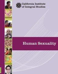 Human Sexuality - California Institute of Integral Studies