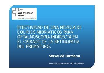 Efectividad de una Mezcla de Colirios Midriáticos para ...