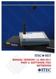 1. Overview software NetDesign