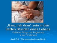 Palliative Care Definition - Wannsee-Schule e.V.