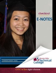 ………. E-NOTES - Chippewa Valley Technical College
