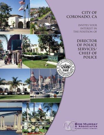 CITY OF CORONADO, Ca - Bob Murray & Associates