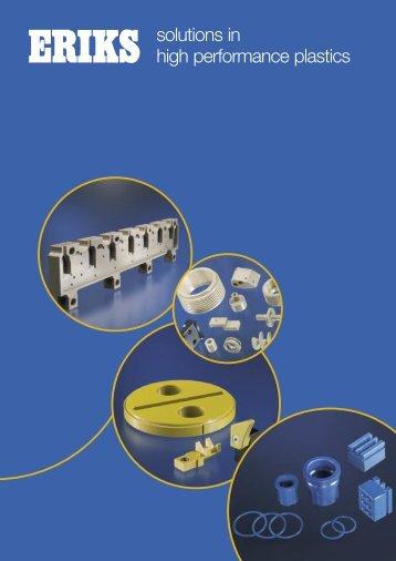 solutions in high performance plastics - Eriks+Baudoin