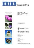 solutions in high performance plastics - Eriks+Baudoin - Page 2