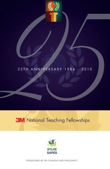 National Teaching Fellowships - STLHE
