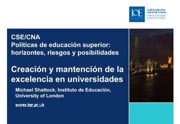 Políticas de educación superior: horizontes, riesgos y posibilidades