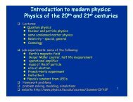 Introduction to modern physics - FSU Physics Department