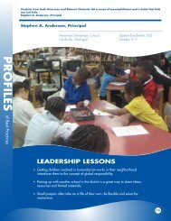 Stephen Anderson, Michigan - National Association of Elementary ...