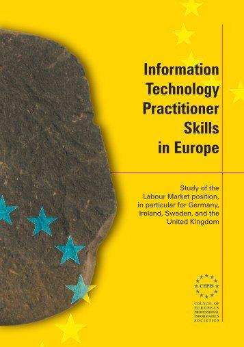 the Labour Market Survey Report - Council of European ...