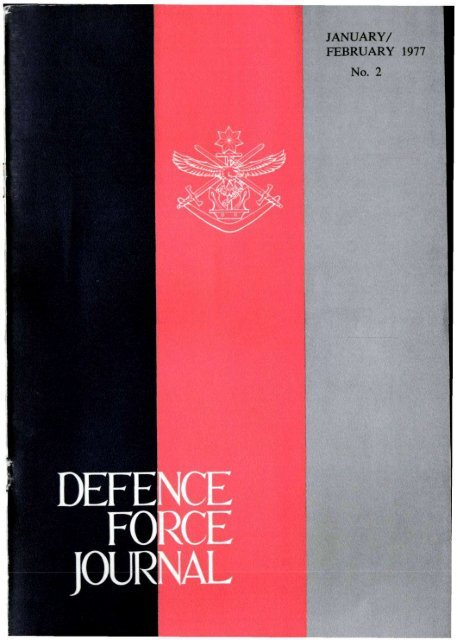 ISSUE 2 : Jan/Feb - 1977 - Australian Defence Force Journal
