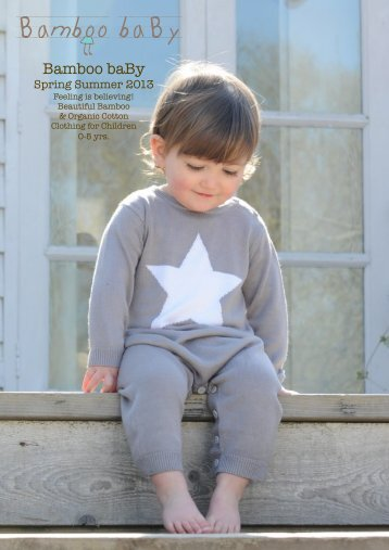 SS13 Catalogue - Wholesale Baby Clothes
