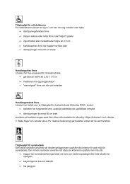 Tillgänglighet i lokaler (pdf) - KulturNatten Uppsala