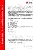 Förderprogram m e - Textil- und B ekleidungsindustrie N R W - ZiTex - Seite 2