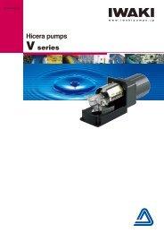 Hicera pumps V series - Iwaki Europe GmbH