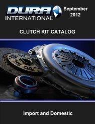 clutch kit catalog
