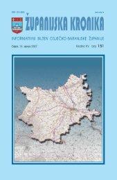Županijska kronika broj 151 - Osječko baranjska županija