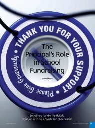 The Principal's Role in School Fundraising - National Association of ...