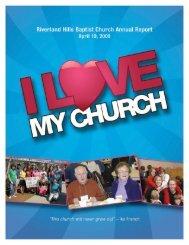 campus map - Riverland Hills Baptist Church