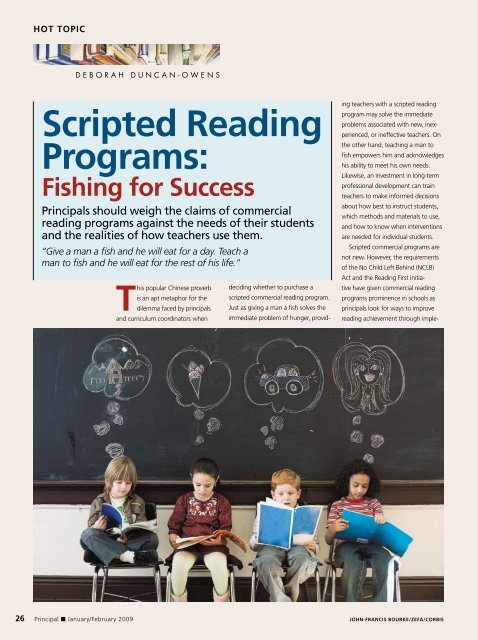 scripted reading programs: - National Association of ...