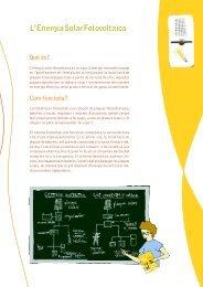 Jugues? Agafa fitxes!: Energia solar fotovoltaica - Agència d'Energia ...