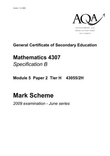 Edexcel – c3 june 2009 examsolutions.