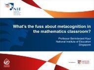 Download - NIE Mathematics & Mathematics Education - National ...
