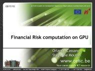 Financial Risk computation on GPU