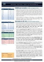 05/02/2013 Informe diario de mercados de Saxo Bank Los futuros ...