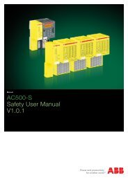 AC500-S Safety User Manual V1.0.1 - Abb