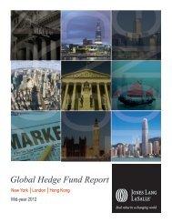 Global hedge fund report - Jones Lang LaSalle