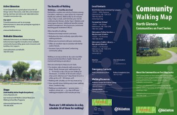 North Glenora Walking Map - City of Edmonton
