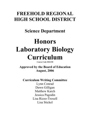 honors biology lab Learn honors biology lab 3 brain with free interactive flashcards choose from 500 different sets of honors biology lab 3 brain flashcards on quizlet.