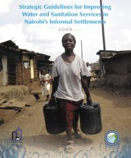 Strategic Guidelines for Improving Water and Sanitation ... - WSP
