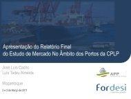 estudo de mercado no âmbito dos portos da CPLP - Associação dos ...